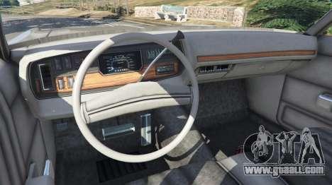 GTA 5 Dodge Polara 1971 v1.0 rear right side view