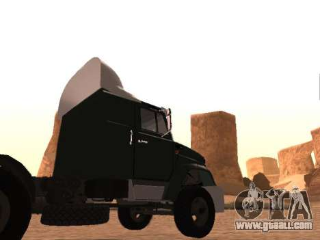 ZIL-133 05A for GTA San Andreas side view