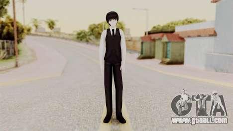 Kaneki Anteiku (Tokyo Ghoul) for GTA San Andreas second screenshot
