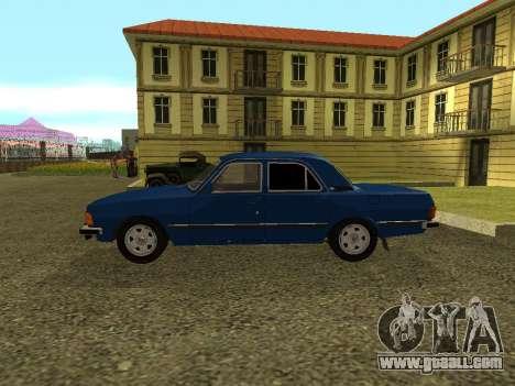 GAZ 3102 Volga for GTA San Andreas left view