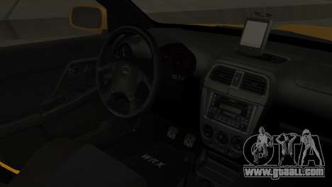 Subaru Impreza WRX GDA for GTA San Andreas right view