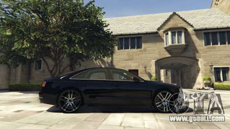 GTA 5 Audi A8 v1.1 left side view