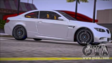 BMW M3 E92 2008 for GTA San Andreas engine