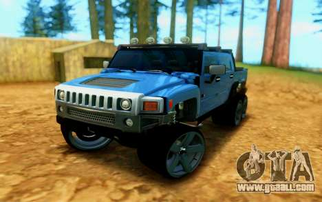 Hummer H6 for GTA San Andreas