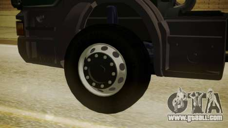Scania P420 for GTA San Andreas back left view