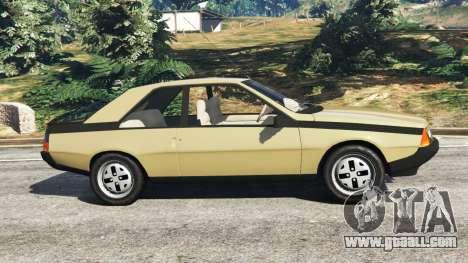 Renault Fuego 1980 for GTA 5