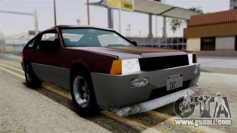 Blista Compact from Vice City Stories for GTA San Andreas right view