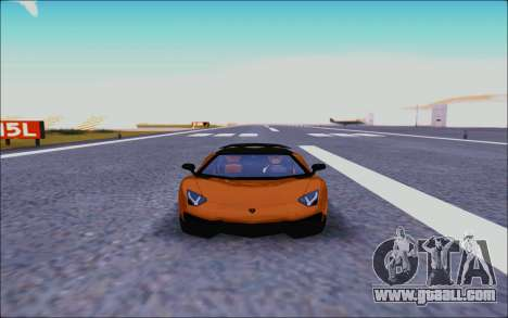 Lamborghini Aventador MV.1 [IVF] for GTA San Andreas inner view