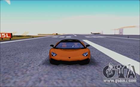 Lamborghini Aventador MV.1 [IVF] for GTA San Andreas inner view