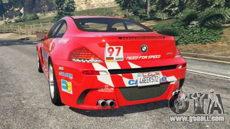 GTA 5 BMW M6 (E63) WideBody v0.1 [Carrillo] rear left side view