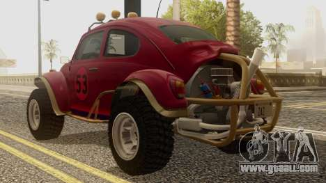 Volkswagen Beetle Baja Bug for GTA San Andreas left view