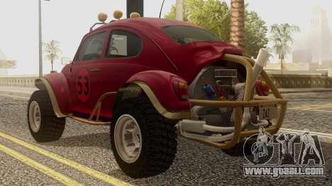 Volkswagen Beetle Baja Bug for GTA San Andreas left view