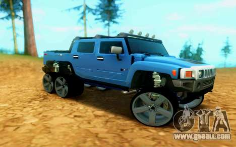Hummer H6 for GTA San Andreas left view