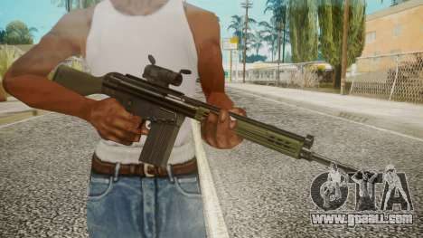 Rifle by EmiKiller for GTA San Andreas third screenshot