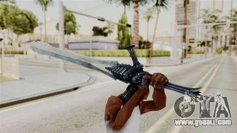 Katana from RE6 for GTA San Andreas third screenshot