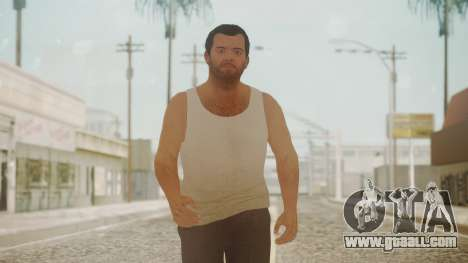 GTA 5 Michael De Santa Exiled for GTA San Andreas