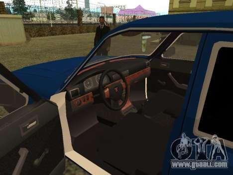 GAZ 3102 Volga for GTA San Andreas back view