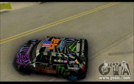 Mini Cooper Gymkhana 6 with Drift Handling for GTA San Andreas right view