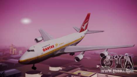 Boeing 747SP Qantas Gold for GTA San Andreas