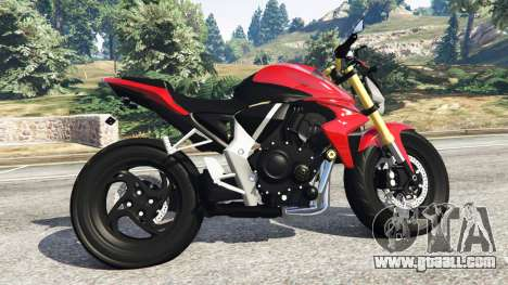 GTA 5 Honda CB1000R left side view