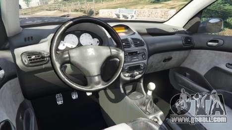 Peugeot 206 GTI for GTA 5