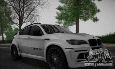 BMW X6M HAMANN Final for GTA San Andreas left view