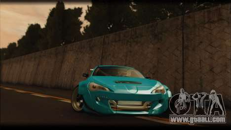 Toyota GT86 Customs Rocket Bunny for GTA San Andreas left view