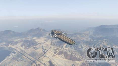 GTA 5 S.H.I.E.L.D. Helicarrier fourth screenshot