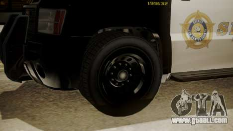 GTA 5 Declasse Granger Sheriff SUV for GTA San Andreas right view