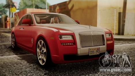 Rolls-Royce Ghost v1 for GTA San Andreas
