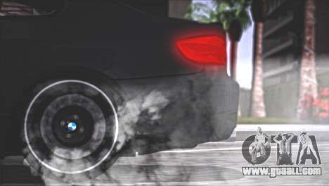 BMW M3 E92 2008 for GTA San Andreas bottom view