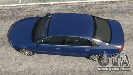 GTA 5 Audi A8 back view
