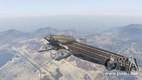 GTA 5 S.H.I.E.L.D. Helicarrier