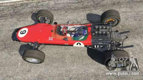 GTA 5 Lotus 49 1967 [no ailerons] back view