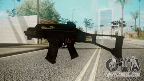 G36C for GTA San Andreas second screenshot