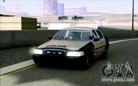 Weathersfield Police Crown Victoria for GTA San Andreas