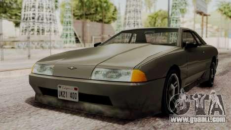 Elegy The Gold Car 2 for GTA San Andreas