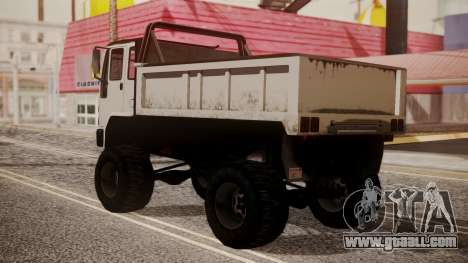 DFT Monster Truck 30 for GTA San Andreas left view