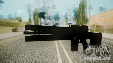 VXA-RG105 Railgun with Stripes for GTA San Andreas second screenshot