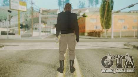 Venom Snake [Jacket] Stun Arm for GTA San Andreas third screenshot