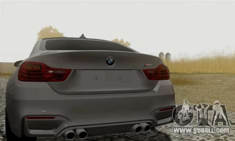 BMW M4 F82 for GTA San Andreas right view