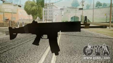 SCAR-L Battlefield 3 for GTA San Andreas
