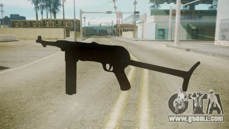MP-40 Red Orchestra 2 Heroes of Stalingrad for GTA San Andreas second screenshot