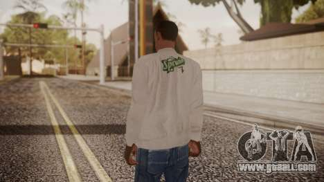 Sprunk Sweater Gray for GTA San Andreas third screenshot