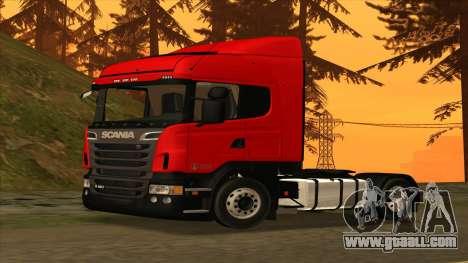 Scania R420 4x2 for GTA San Andreas