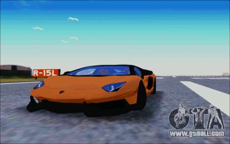 Lamborghini Aventador MV.1 [IVF] for GTA San Andreas