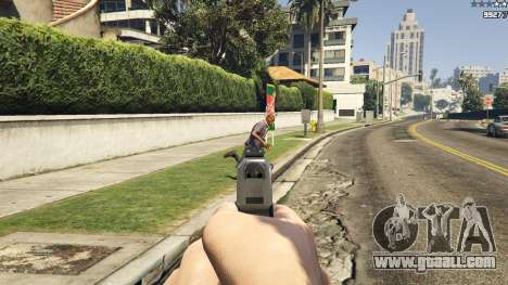 GTA 5 Forced First Person Aim 1.0.6 second screenshot