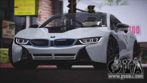 BMW i8 Coupe 2015 for GTA San Andreas left view