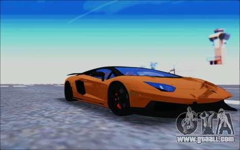 Lamborghini Aventador MV.1 [IVF] for GTA San Andreas left view