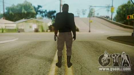 Venom Snake [Jacket] for GTA San Andreas third screenshot